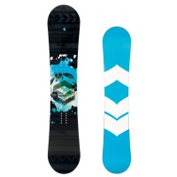 FTWO Black Deck Camber Snowboard