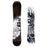 FTWO Black Deck Wood Snowboard
